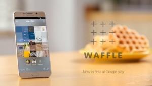 Waffle, la red social de Samsung