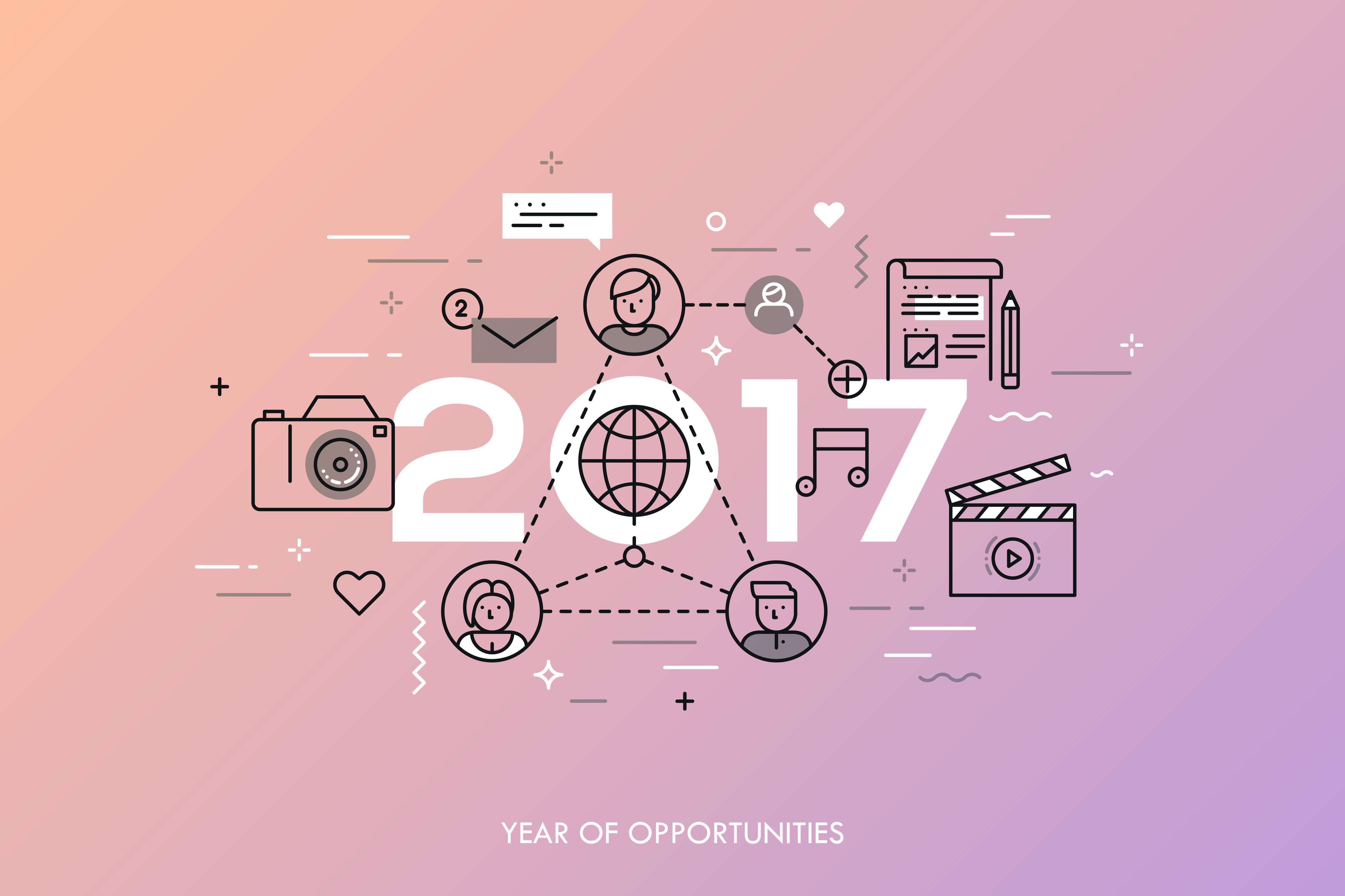 TENDENCIAS DE SOCIAL MEDIA PARA EL 2017
